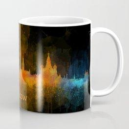 Moscow City Skyline art HQ v4 Coffee Mug