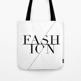 fashion typography Tote Bag