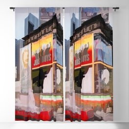 Times Square III (semi abstract) Blackout Curtain