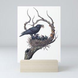 American Crow Mini Art Print