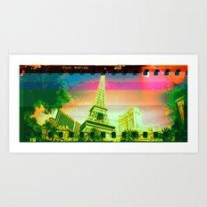 Las Vegas | Project L0̷SS   Art Print