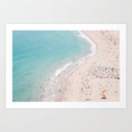 Beach Summer Seaside Art Print