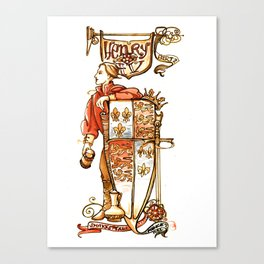 Prince Hal from Henry IV Canvas Print