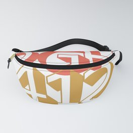 Pittsburgh PGH 412 Steel City Vintage Gifts Fanny Pack