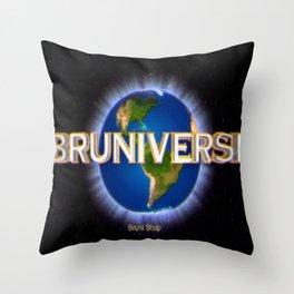Bruniverse Throw Pillow