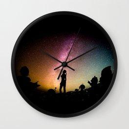Stargazing - Super Smash Brothers Wall Clock