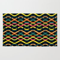 dna Area & Throw Rugs featuring DNA by Shkvarok