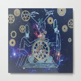 Time Keepers Metal Print