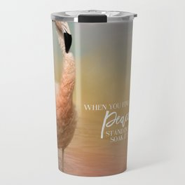 Finding Peace Travel Mug
