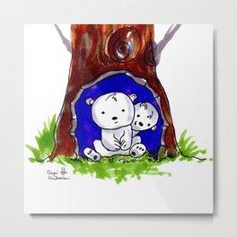 Teddy Bears Metal Print