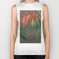 blossom Biker Tanks featuring blossom by Detelina Abadjieva