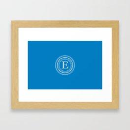 The Circle of E Framed Art Print