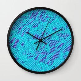 Abstract Pattern Wall Clock