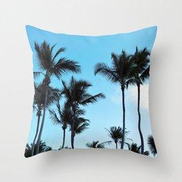 Coconut trees   Praia do Espelho   Brazil Throw Pillow