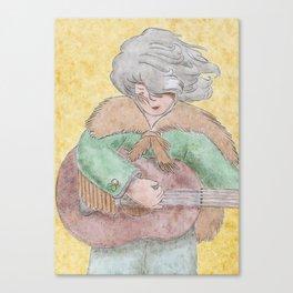 Kuromukuro Canvas Print