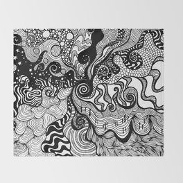 hypnotised Throw Blanket