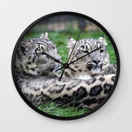 Aqua_Leopard_20180106_by_JAMColorsSpecial Wall Clock