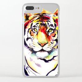 The Big Tiger Clear iPhone Case