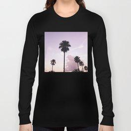 Palm trees in Barcelona, Spain Long Sleeve T-shirt