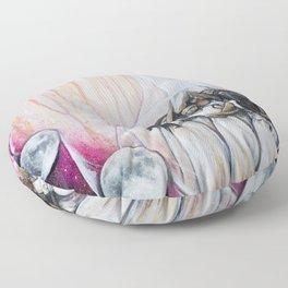 Sister Circle Floor Pillow