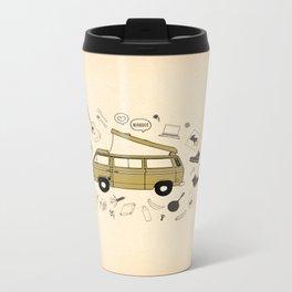 Van Life Metal Travel Mug