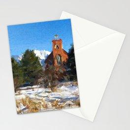 St. Ignatius Mission, Montana Stationery Cards