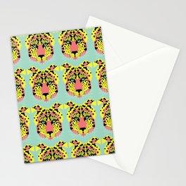 Modular Cheetah Stationery Cards