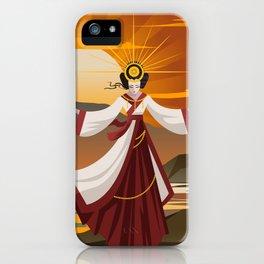 amaterasu Shinto sun mythology goddess iPhone Case