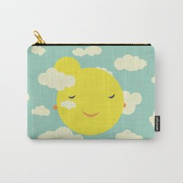 Miss Sunshine in clouds Carry-All Pouch