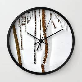 Sticks Wall Clock