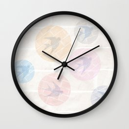 SHADOWBIRDS Wall Clock