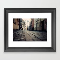 Poznan...an intimate encounter Framed Art Print