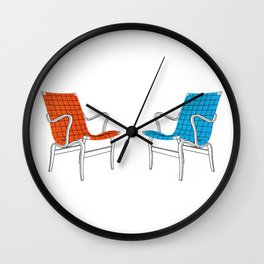 Coversation Area Wall Clock