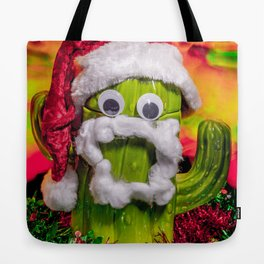 Chester the Christmas Cactus Tote Bag