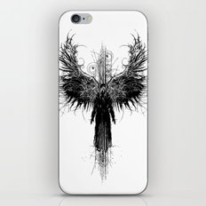Particles and Angels iPhone Skin