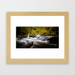 Trap Falls Framed Art Print
