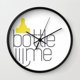 Bottle Me Wall Clock
