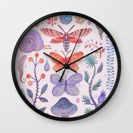 Et coloris natura III Wall Clock