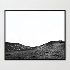 Sleeping Volcano... Canvas Print