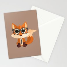 Fox Nerd Stationery Cards