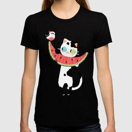 Watermelon Cat T-shirt