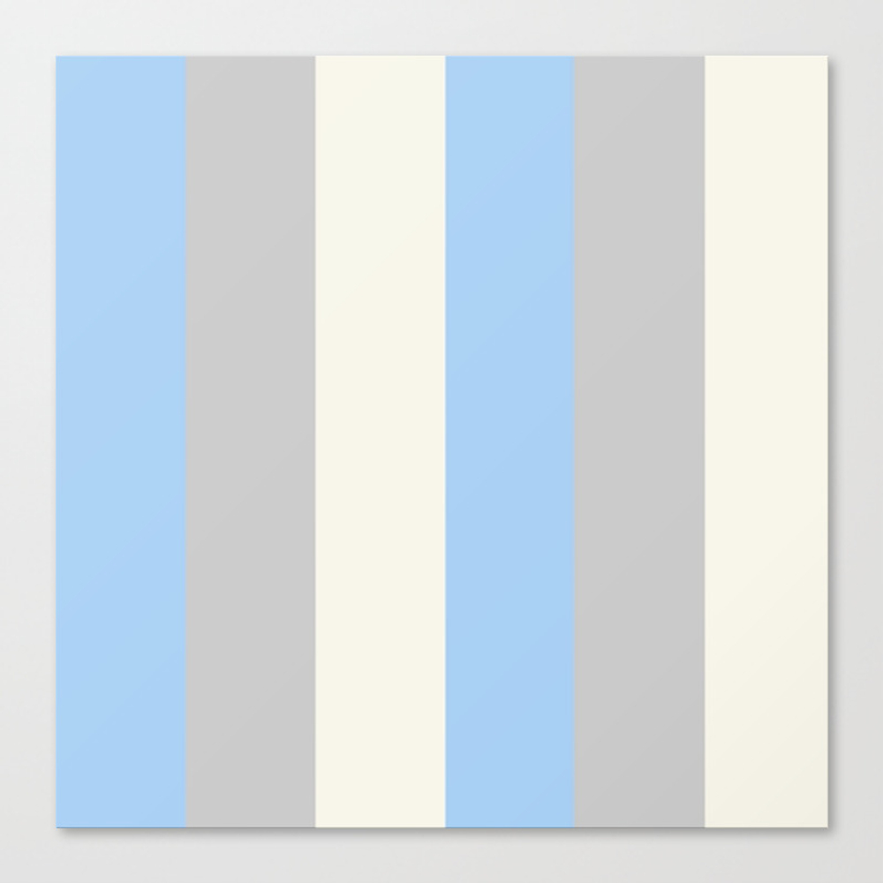 Nested Blues Canvas Print by Leximckibben CNV8795033