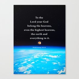 The Highest Heavens Canvas Print