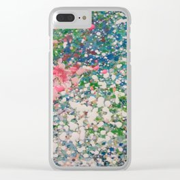 snow and iron Clear iPhone Case
