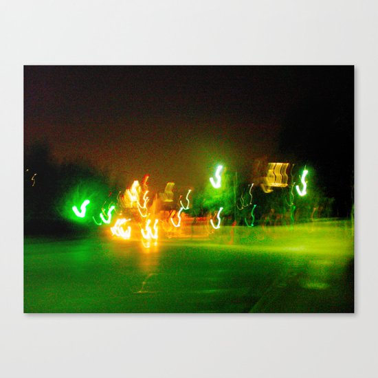 Austin Lights Canvas Print