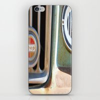 jeep iPhone & iPod Skins featuring Jeep by AnniarchyDesigns