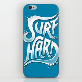 Surf Hard V1 iPhone Skin