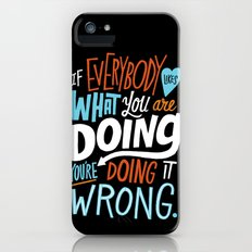 Doing it Wrong Slim Case iPhone (5, 5s)
