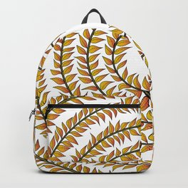 Merry go round (yellow) Backpack