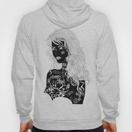 Tattooed Girl Hoody